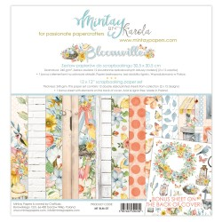 Scrapbooking Papers - BLOOMVILLE (12x12)