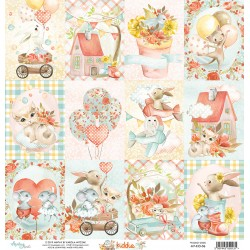 Scrapbooking Paper- 12x12 Sheet /KIDDIE  06