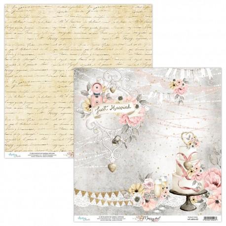 Scrapbooking Papers - MARRY ME  (6x6)