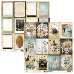 Scrapbooking Paper- 12x12 Sheet - LIFE STORIES 06