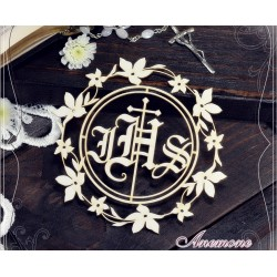 Chipboard - Host with flower frame