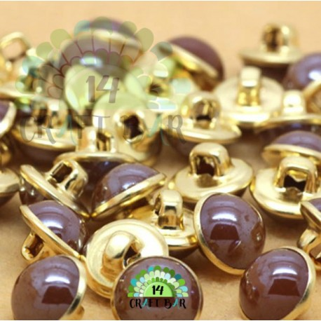 Pearl button - 8mm (76)