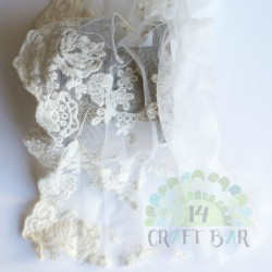 Embroidered Tulle - 08