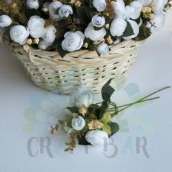 Silk Peony- WHITE