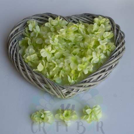 Fabric Gillyflower -LIME