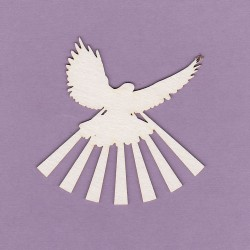 Chipboard - Mini Pigeons / 5pcs