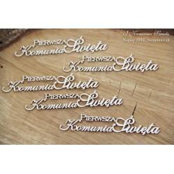 Chipboard - Polish text -W Dniu Slubu