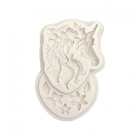 Silicone Mold - Fabulous Unicorn