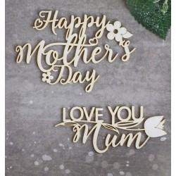 Chipboard - Love you Mum
