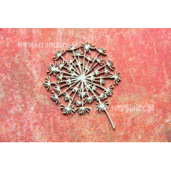 Chipboard- Dandelion/1 pcs
