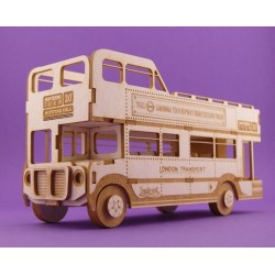 Chipboard 3D - London Bus