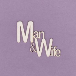 Chipboard - Man&Wife