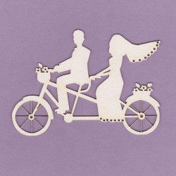 Chipboard - Wedding Tandem/mini
