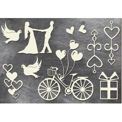 Chipboard - Love,love,love