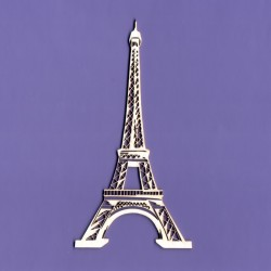 Chipboard - EIFEL TOWER/big