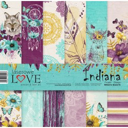 Scrapbooking Papers - Indiana (12x12)