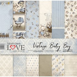 Scrapbooking Papers - Vintage Baby Boy