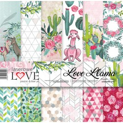 Scrapbooking Papers - Love Lama (12x12)