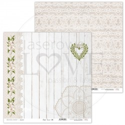 Scrapbooking Paper- 12x12 Sheet - First Love 04