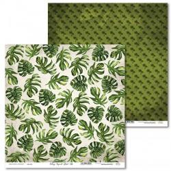 Scrapbooking Paper- 12x12 Sheet - Tropical Island 02