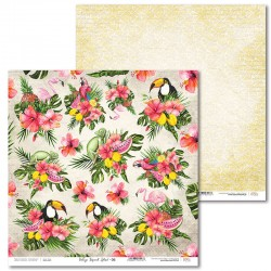 Scrapbooking Paper- 12x12 Sheet - Tropical Island 06