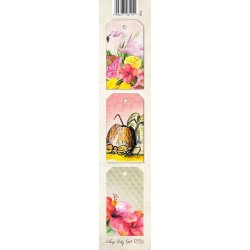 Scrapbooking Paper Strap - Tropical Island /FLAMINGO