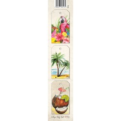 Scrapbooking Paper Strap - Tropical Island /PARROT