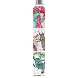 Scrapbooking Paper Strap - Love Lama 1