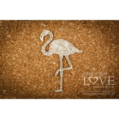 Chipboard- Flamingo