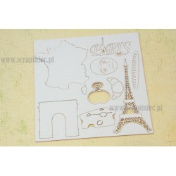 Chipboard - Travel the world/FRANCE