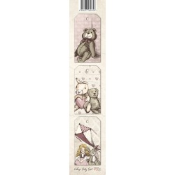 Scrapbooking Paper Strap - Baby Girl 01