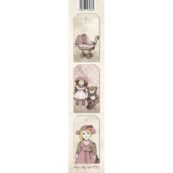 Scrapbooking Paper Strap - Baby Girl 02