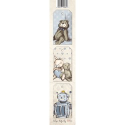Scrapbooking Paper Strap - Baby Boy 01