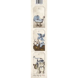 Scrapbooking Paper Strap - Baby Boy 02