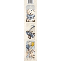 Scrapbooking Paper Strap - Baby Boy 03