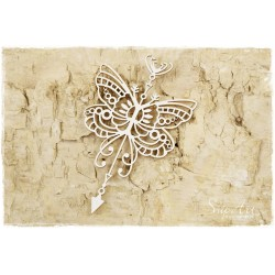 Chipboard - Butterfly arrow