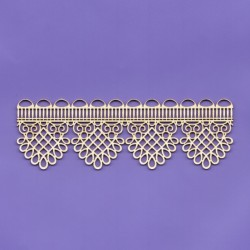 Chipboard - Border Lace