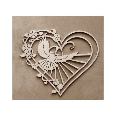 Chipboard - Holy Spirit in the heart