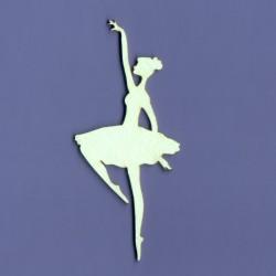 Chipboard - Ballerinas/3pcs