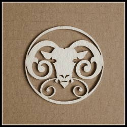 Chipboard - Zodiac/ ARIES