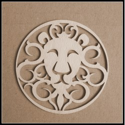 Chipboard - Zodiac/ LEO