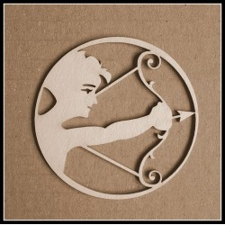 Chipboard - Zodiac/SAGITTARIUS