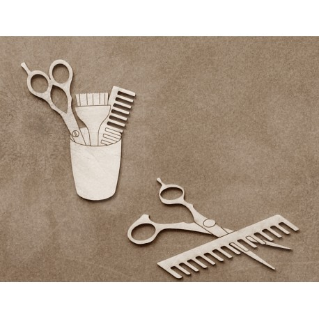 Chipboard - Hairdressing accessories