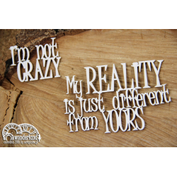 Chipboard -Quote from Alice