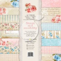 Scrapbooking Papers - Sense and sensibility (6x6)