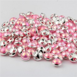 Pearl button - 8mm