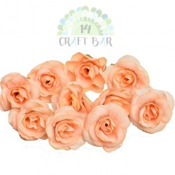 Silk Rose 4 cm / 5 pcs