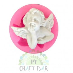 "Silicone Mold - Mini Angel ""A"""