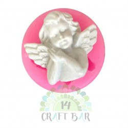 "Silicone Mold - Mini Angel ""C"""