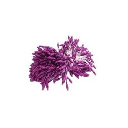 Glitter Stamens 2.50/7mm-PURPLE